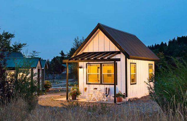 Montana tiny home