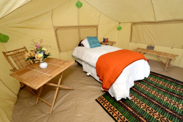 Indiana: Glamping at the Indianapolis Motor Speedway