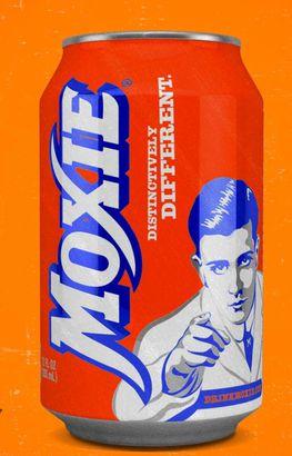 Moxie pop soda