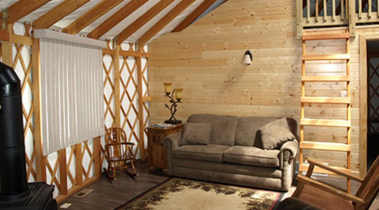 North Dakota: Parks & Recreation's Yurts & Tipis