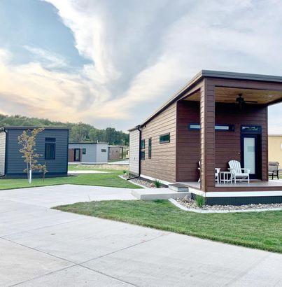 North Dakota tiny home