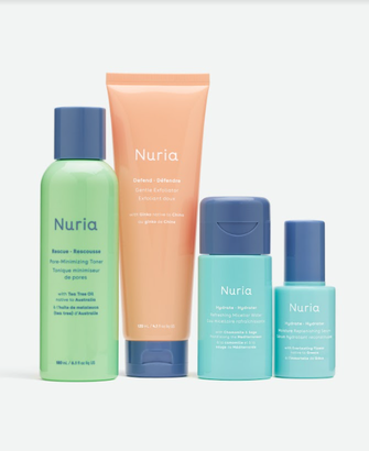 Nuria skin products