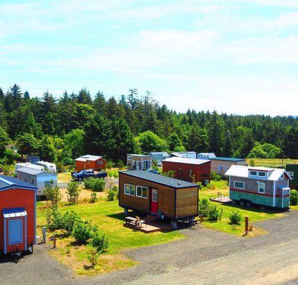 Oregon tiny home