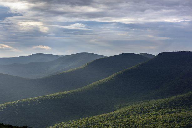 Overlook Mountain Vista Views in Catskills