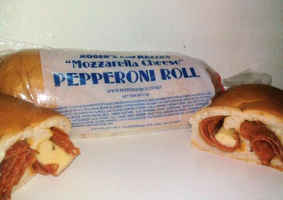 Pepperoni roll