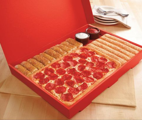 Pizza Hut's Cinnamon Sticks