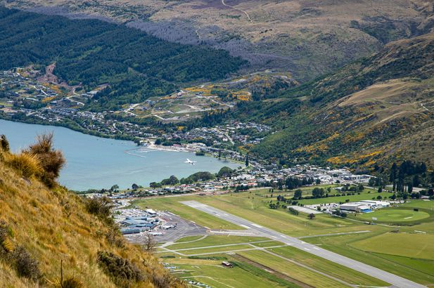 Queenstown Airport, New Zealand