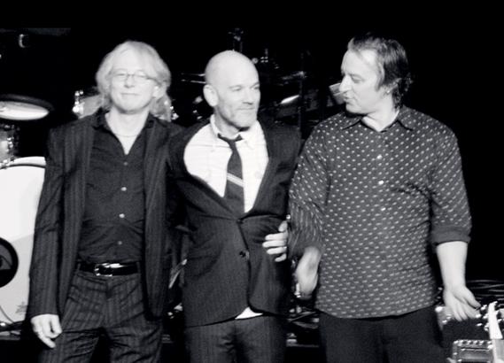 R.E.M. on final tour, 2008