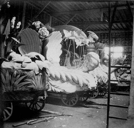 Rex floats in their den, 1901