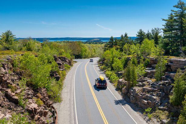 Road in Acadia