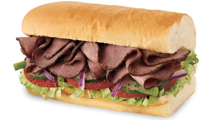Subway's Roast Beef
