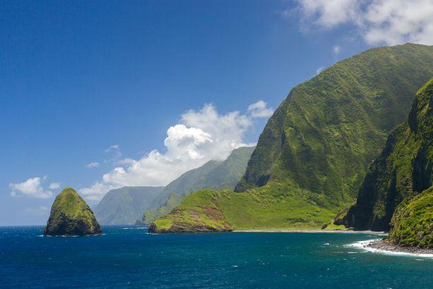 Sea Cliffs, Molokai