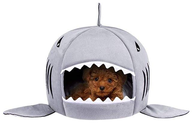 Shark Dog Bed