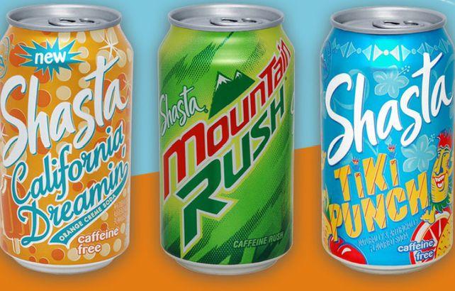 Shasta soda pop