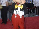 Mickey Mouse at the world premiere of Pirates of the Caribbean