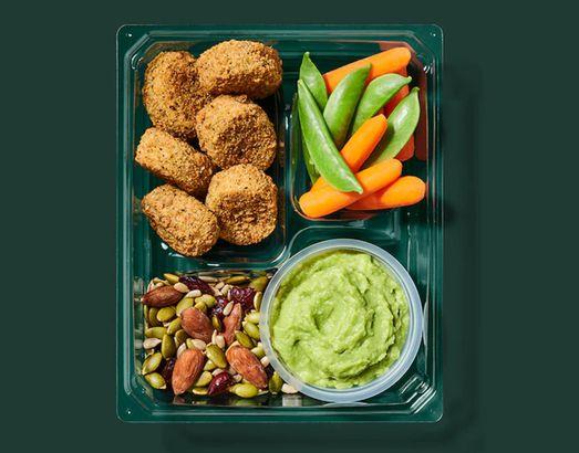Starbucks' Chickpea Bites & Avocado Protein Box