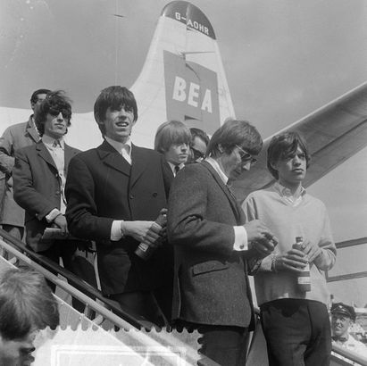 Rolling Stones at Amsterdam Airport