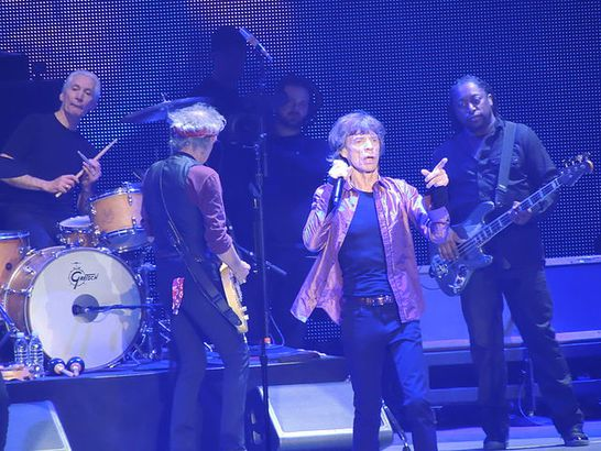 The Rolling Stones in 2013