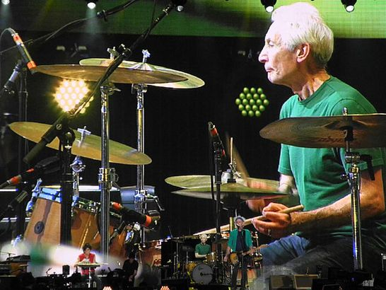 Charlie Watts in 2013