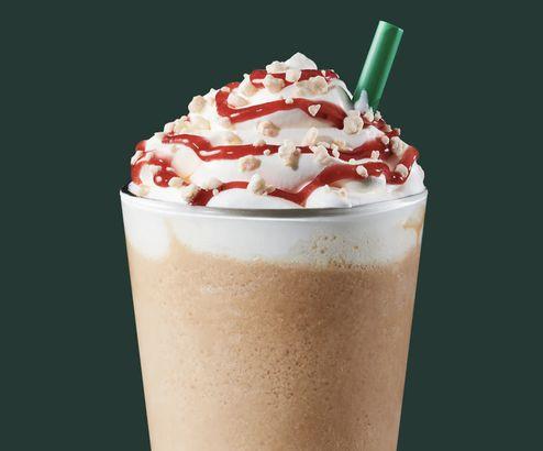 Starbucks' Strawberry Funnel Cake Frappuccino