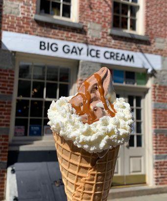 Big Gay Ice Cream's Monday Sundae