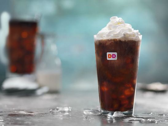 Dunkin's Sweet & Salted Cold Brew coffee