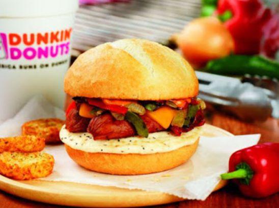 Dunkin's Tailgater Breakfast Sandwich
