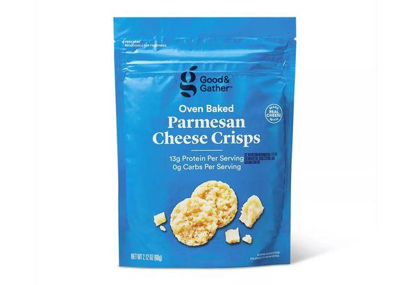 Parmesan Baked Cheese Crisp