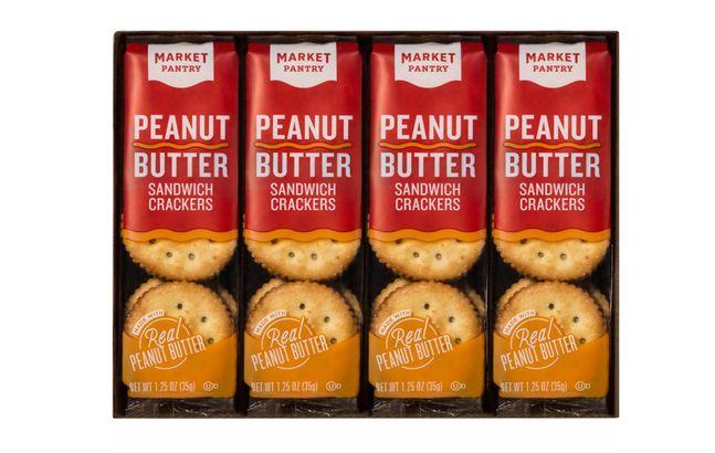Peanut Butter Sandwich Crackers