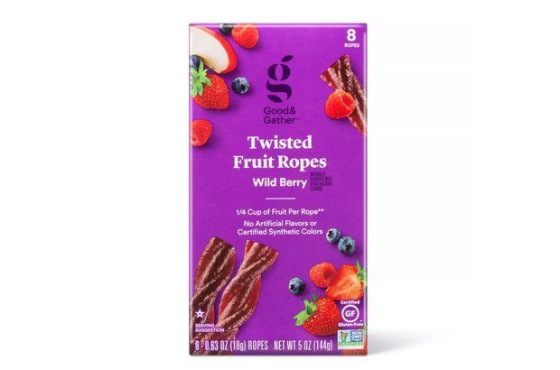 Wild Berry Fruit Twists