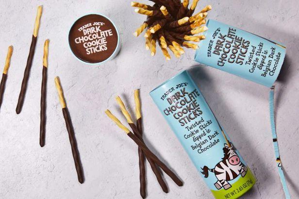 Dark Chocolate Cookie Sticks