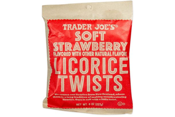 Soft Strawberry Licorice Twists