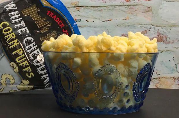 World's Puffiest White Cheddar Corn Puffs