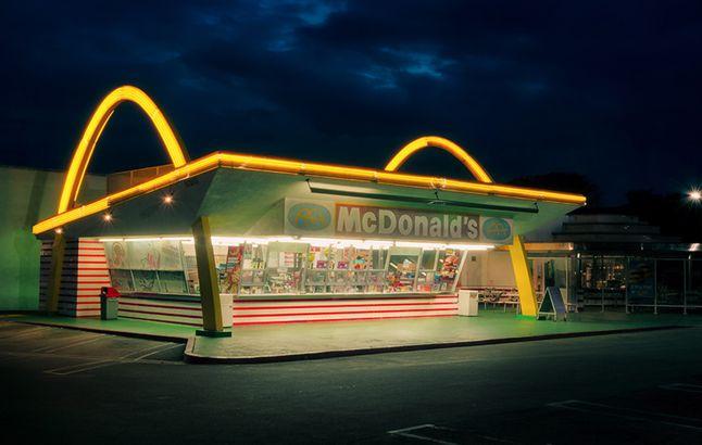 Vintage McDonald's restaurant