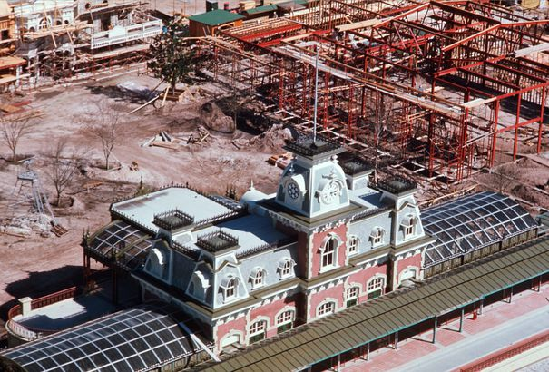 Walt Disney World Construction