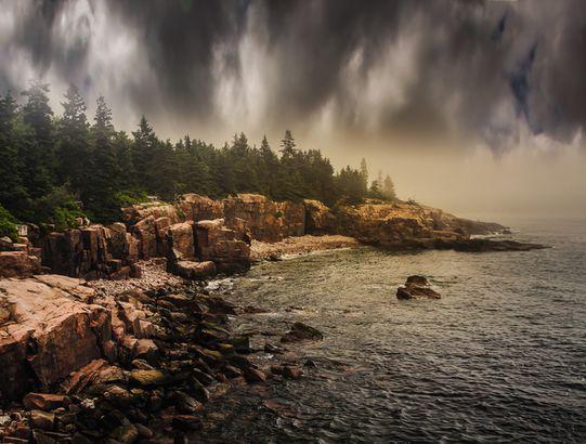 Weather battle, Acadia