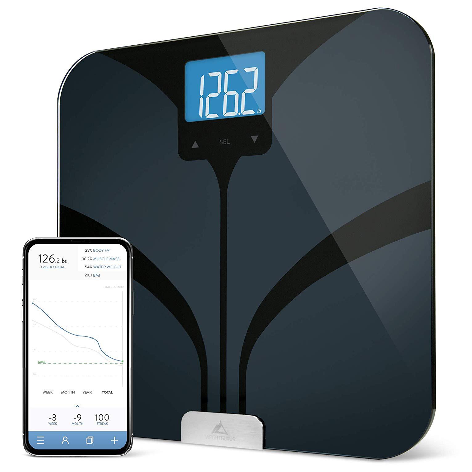 WEIGHT GURUS BLUETOOTH SMART SCALE | Best Value: Smart Scale Under $50
